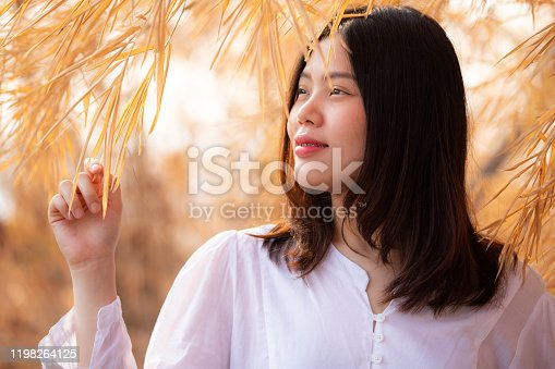 507626888 istock photo Close up face of a asian young beautiful woman. 1198264125