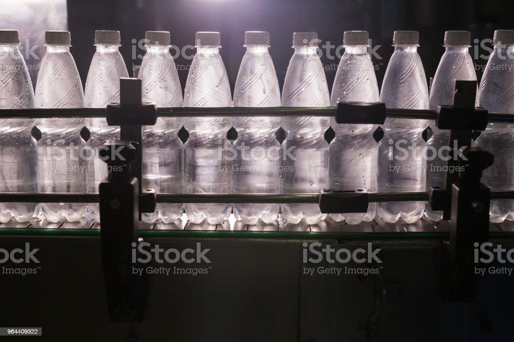 Close-up van een fles-industrie - Royalty-free Apparatuur Stockfoto