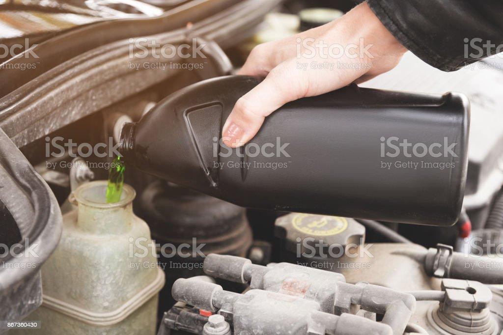 Kühlwasser auto