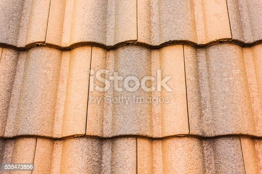 Close up home carved roof-tile texture