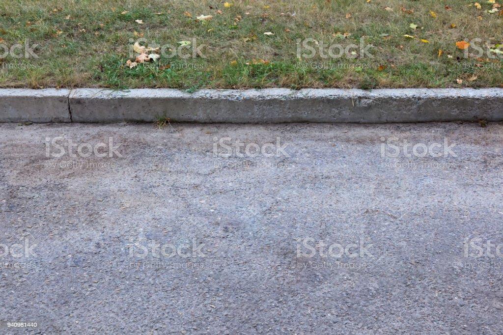 Close up image of pavement stock photo