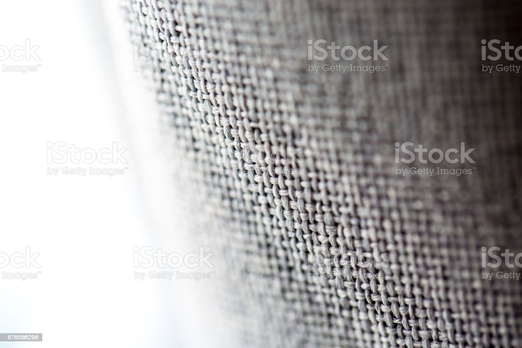 Close up  interlaced fabric texture stock photo