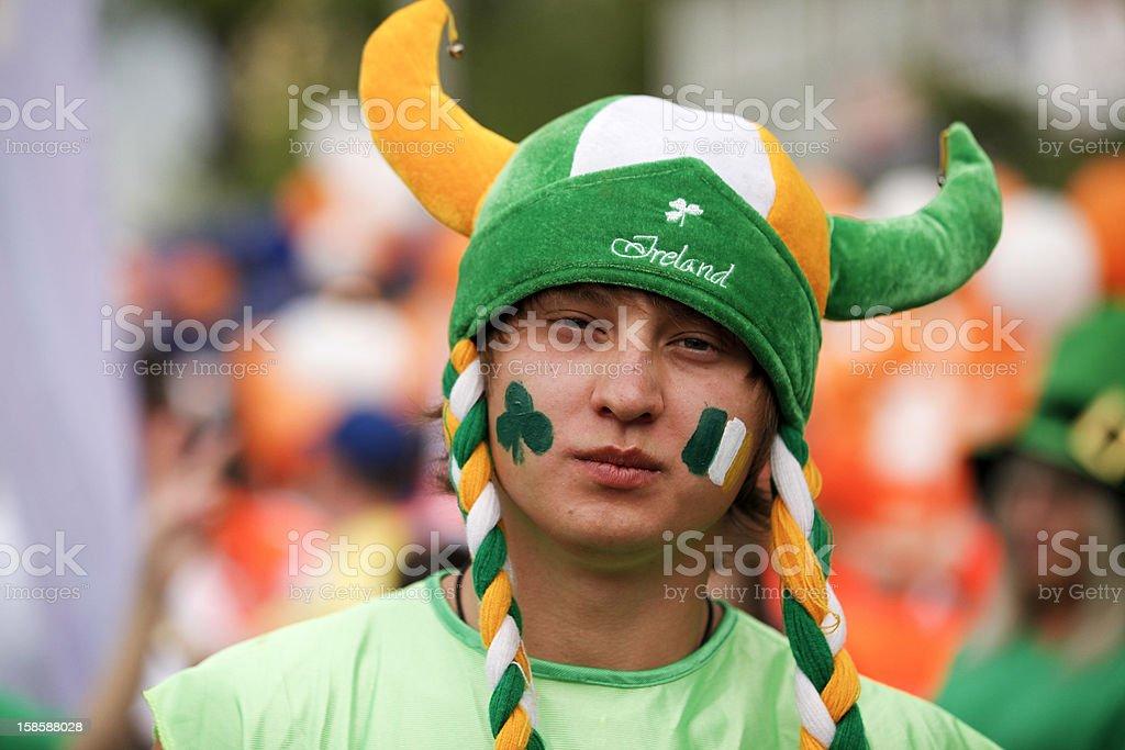 Nahaufnahme Mann portrait irischen – Foto