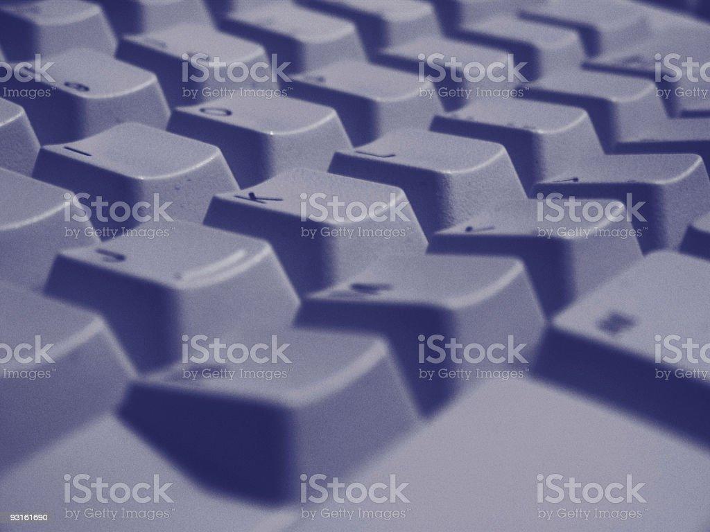 Close Up Keyboard Keys stock photo