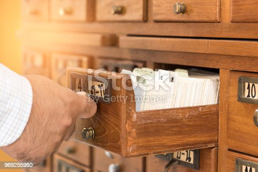 668340340istockphoto Close Up library index. 969255980