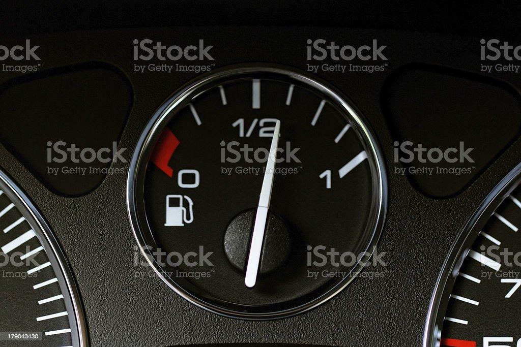 Close up modern car dashboard stock photo