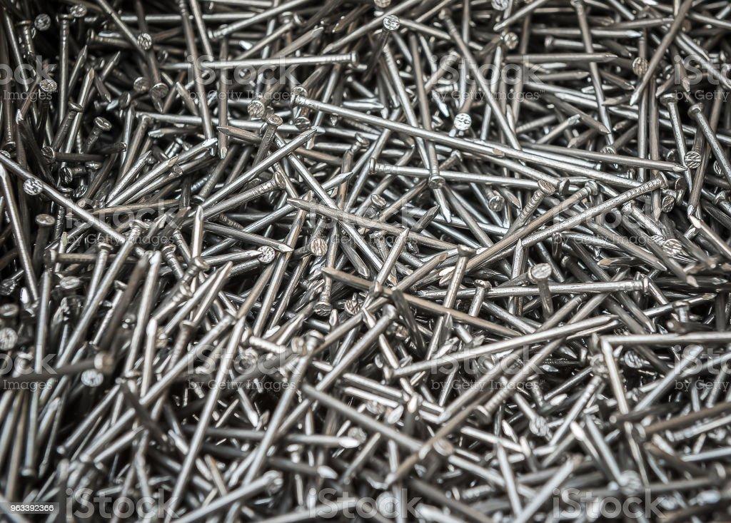 Close up nails - Zbiór zdjęć royalty-free (Błyszczący)