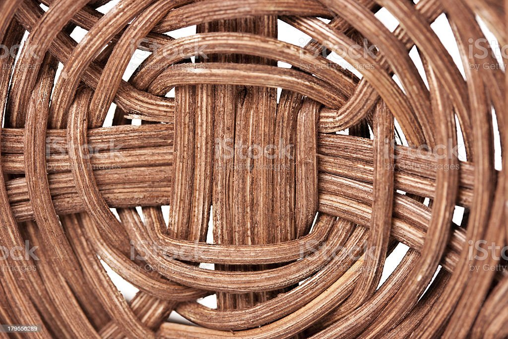 Close up of a basket texture royalty-free stock photo