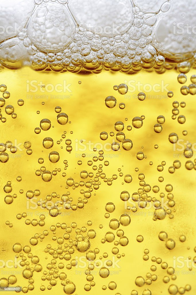 Close up of a beer royalty-free stock photo