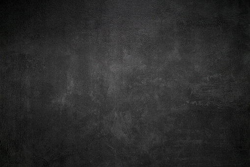 Close Up of a Black Slate Texture Background - Stone - Grunge Texture
