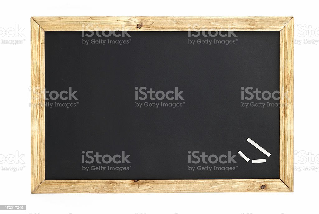 Close up of a chalkboard royalty-free stock photo