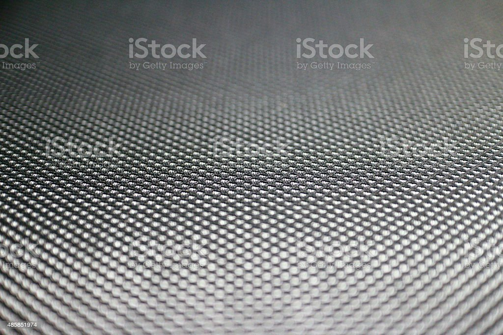 Close up of a cloth seat sports car stock photo