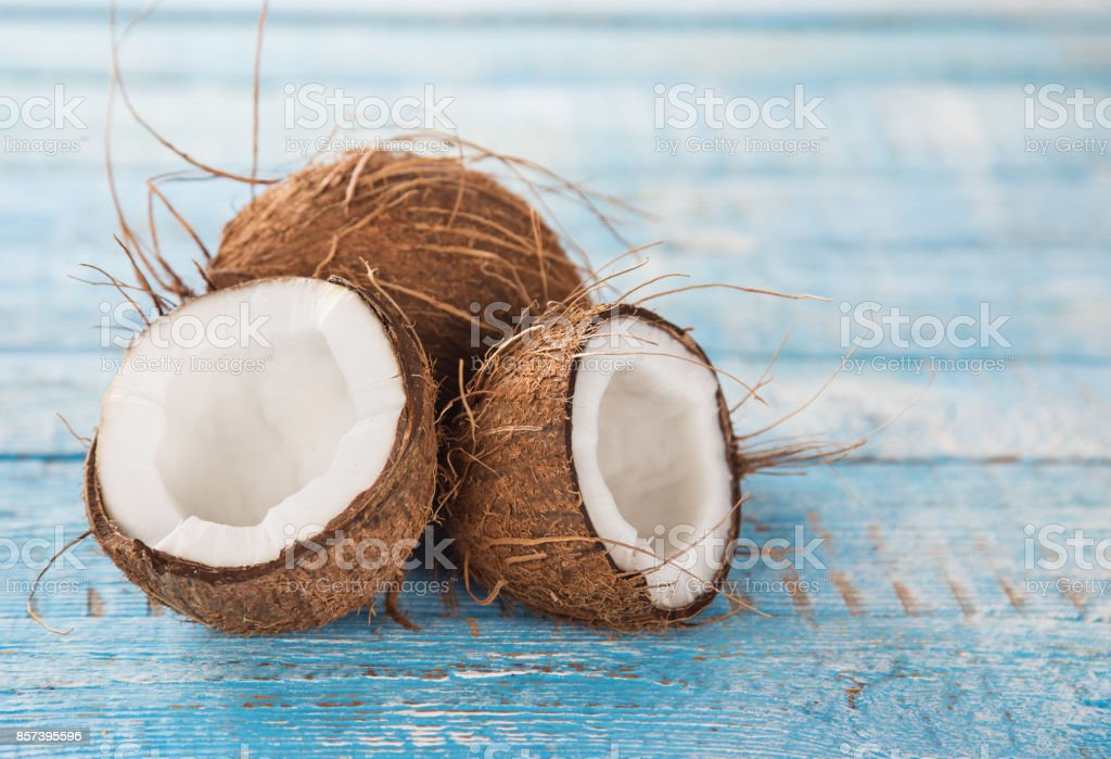 close up of a coconuts stock photo