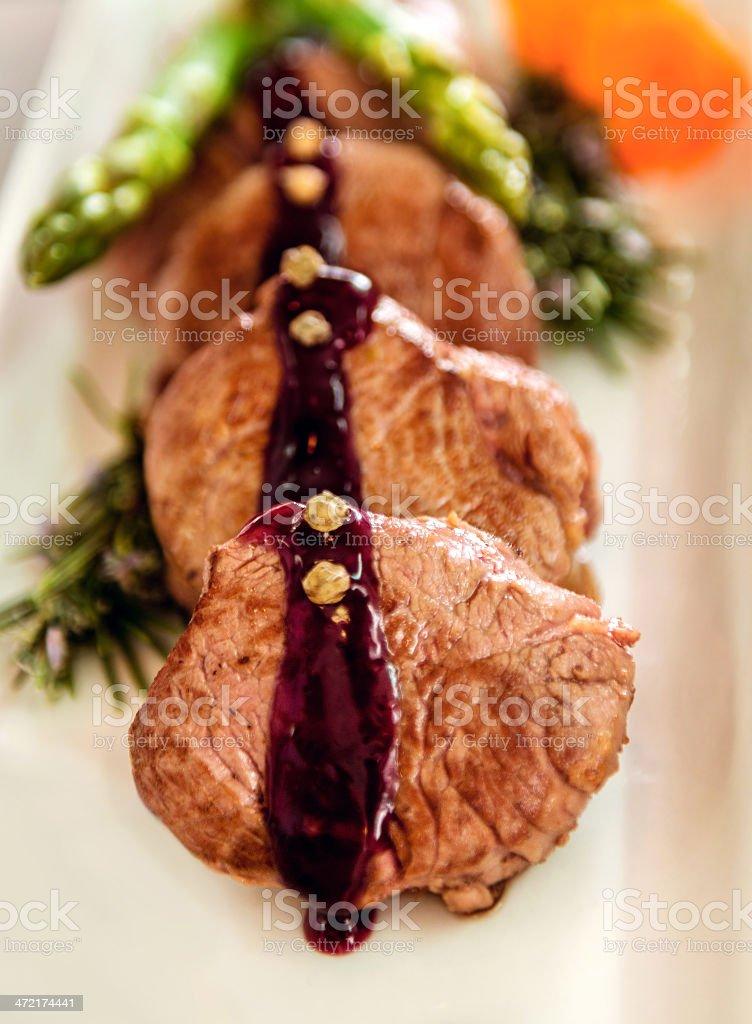 Close up of a dish royalty-free stock photo
