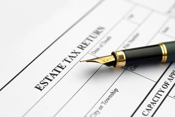 Estate-Steuererklärung – Foto