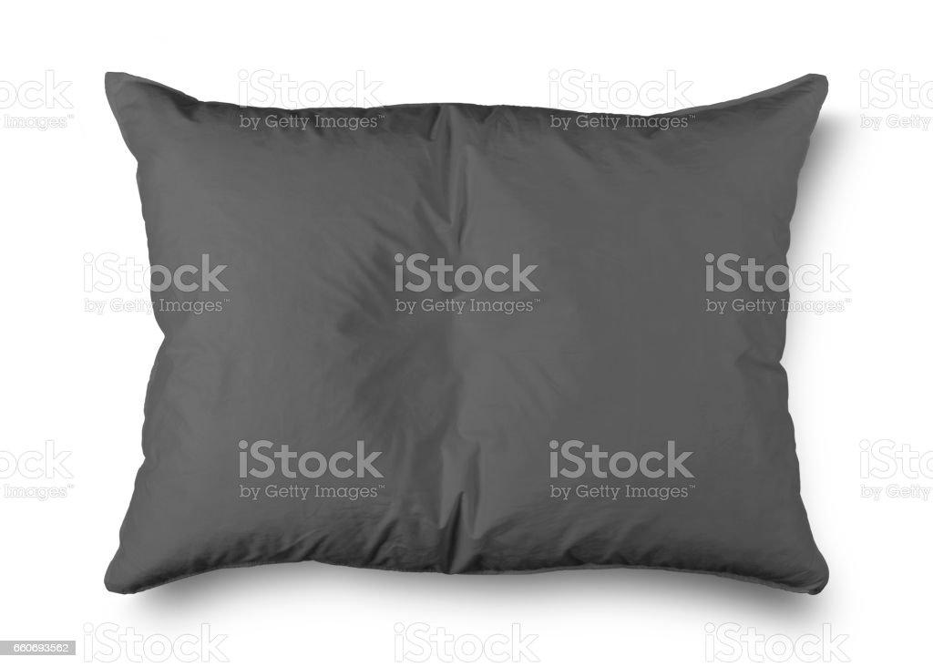 Nahaufnahme eines grauen Kissen – Foto