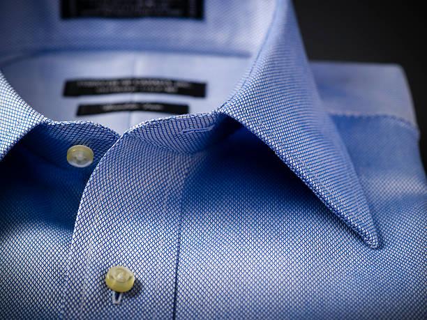 close-up de uma camisa masculina - camisa - fotografias e filmes do acervo