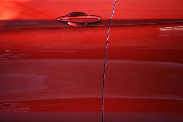 car door griff - malerei türen stock-fotos und bilder
