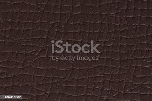 istock Close up of a rough texture background of brown. 1150044632
