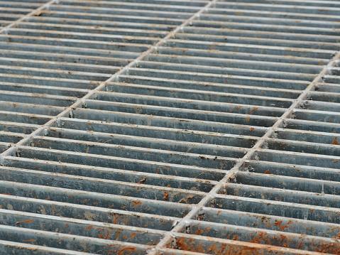 Iron - Metal, Metal, Road, Sidewalk, Steel