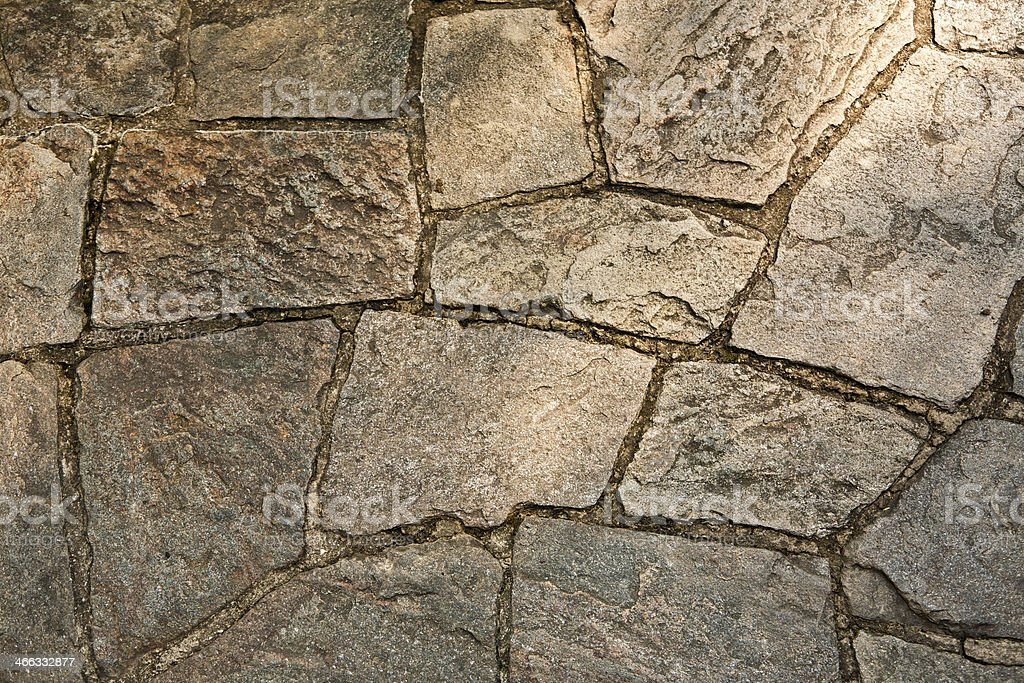 Close up of a Stone Walkway royalty-free stock photo