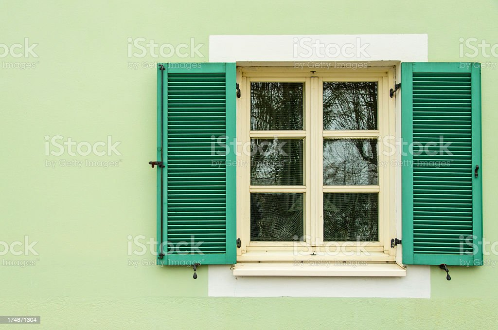 Close up of a window royalty-free stock photo