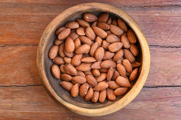 close up of almonds – zdjęcie