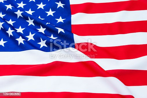 687972458 istock photo Close up of American flag 1094960880