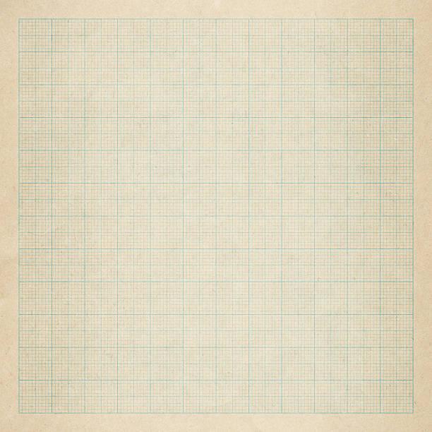 close up of an old graph paper - linjerat papper bakgrund bildbanksfoton och bilder