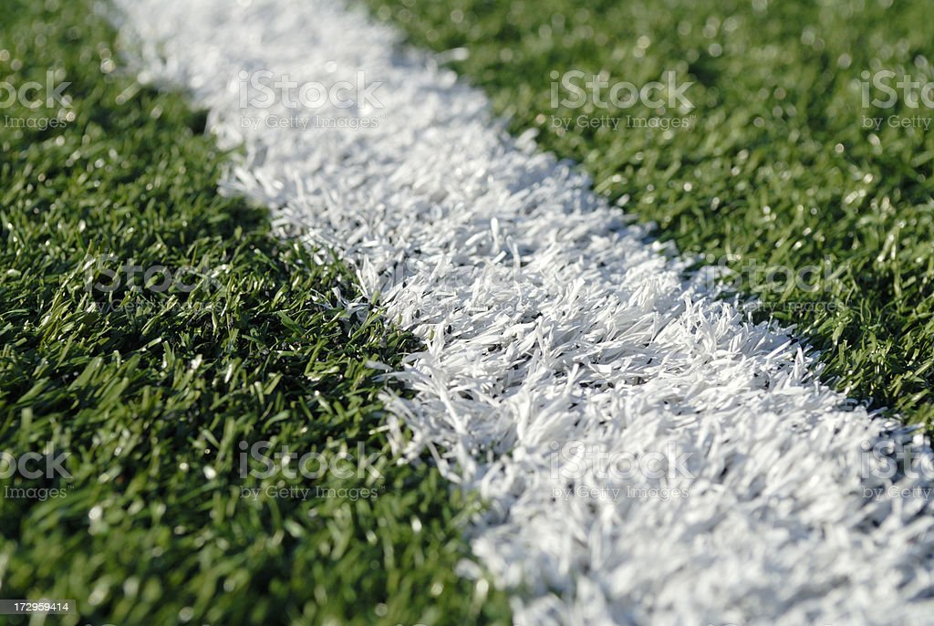 Close up of astro turf royalty-free stock photo
