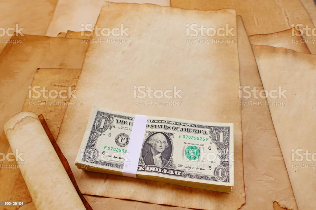 close up of banknote royalty-free stock photo