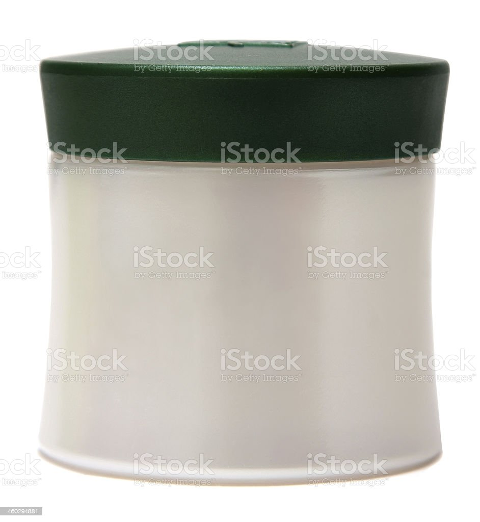 close up of beauty hygiene container stock photo