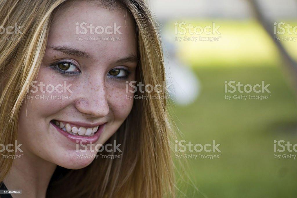 close up of beauty royalty-free stock photo