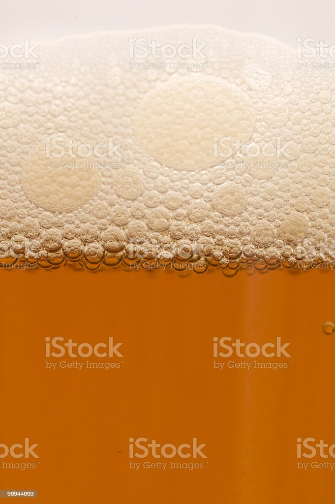 Close up of Beer royalty-free stock photo