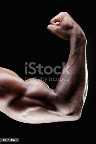 istock Close up of bicep 157506437