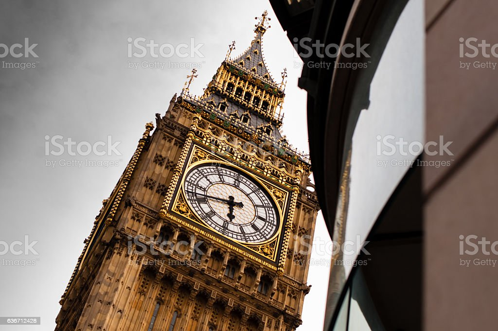 Close up of Big Ben stock photo