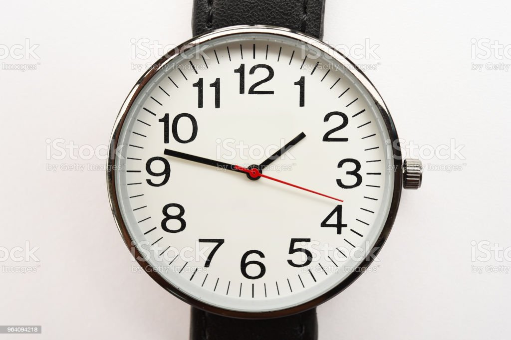 close up of black wristwatches - Royalty-free Beauty Stock Photo