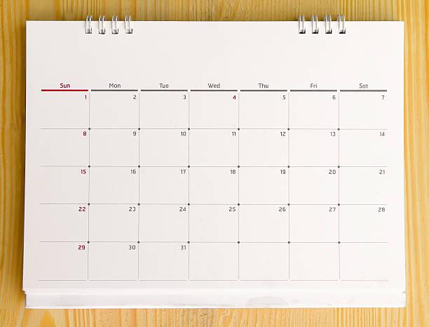Nahaufnahme der Kalender 2015 – Foto