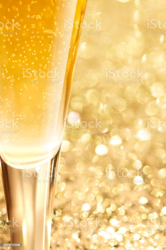 Close Up Of Champagne stock photo