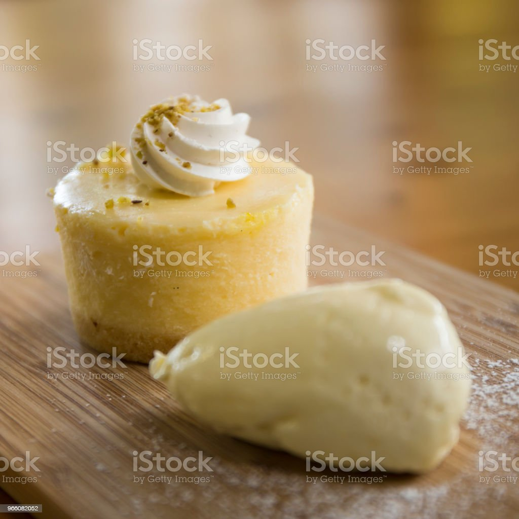 Close up van cheesecake - Royalty-free Australië Stockfoto