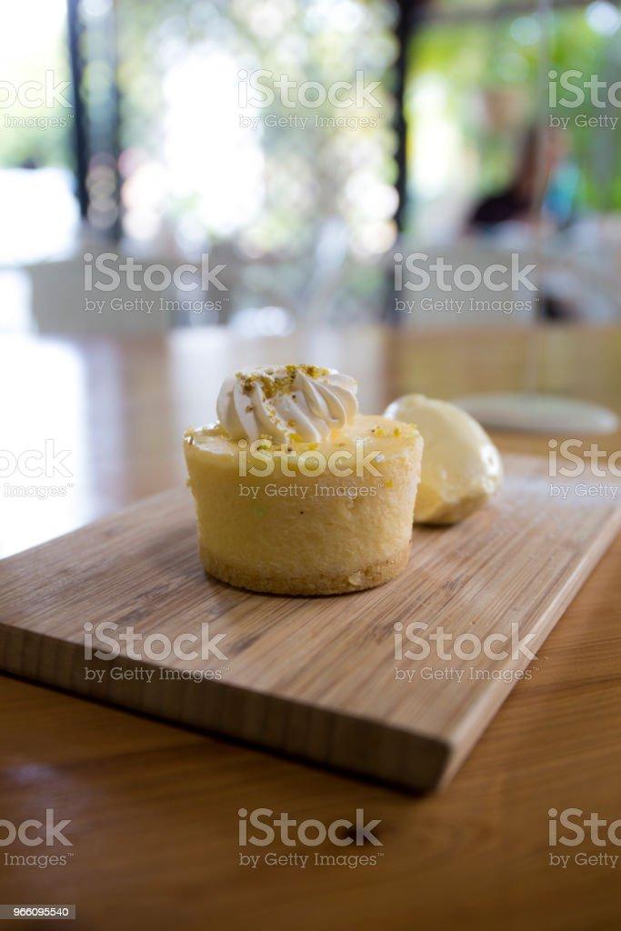Nahaufnahme von Käsekuchen - Lizenzfrei Australien Stock-Foto