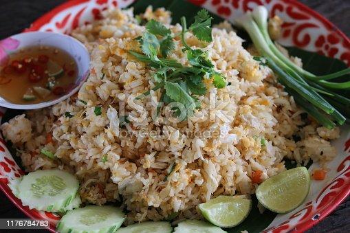 Popular Thai food.