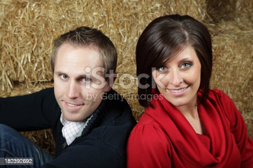 istock Close Up Of Cute Young Couple 182392692