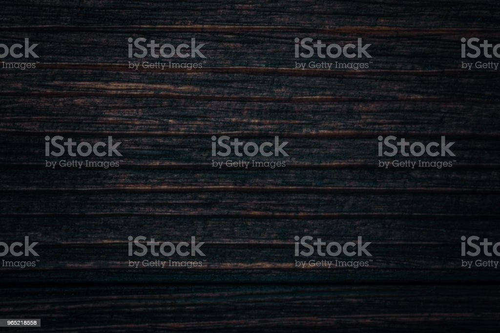 Close up of dark brown wood texture with natural striped pattern background royalty-free stock photo