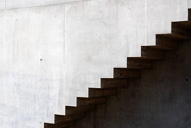 détail de l'architecture moderne de la maison et escaliers - marches marches et escaliers photos et images de collection