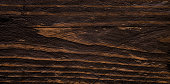 Close up of dark wood background. Wooden board