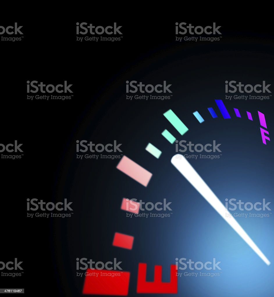Close up of dashboard royalty-free stock photo