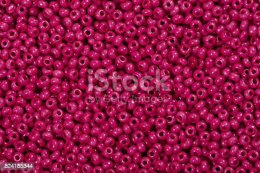 istock Close up of deep pink 824185344