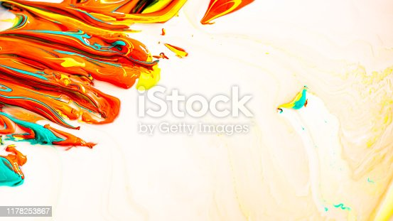 638820876istockphoto Close up of different acrylic color oil paint abstract background 1178253867