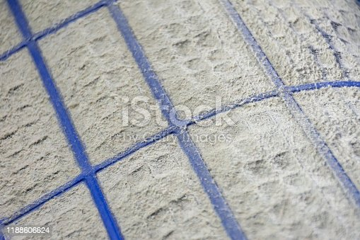 931591820 istock photo Close up of dust and dirty on air conditioner filter. 1188606624